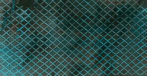 Motif carreaux en peinture décorative